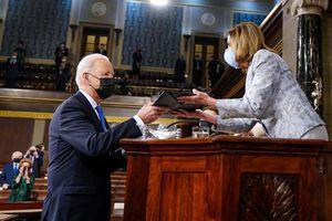 Câu kết đắt giá trong bài phát biểu của ông Biden