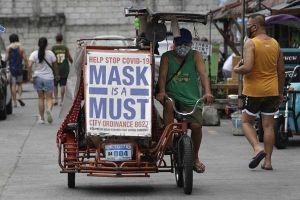 Campuchia ghi nhận ca nhiễm tăng kỷ lục, Philippines gia hạn lệnh phong tỏa Manila