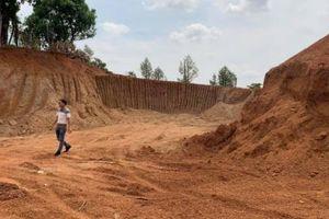 Doanh nghiệp 'trộm' đất nguyên quả đồi để thi công đường 460 tỷ đồng