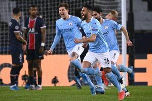 Lượt đi bán kết Champions League: Man City đánh bại PSG 2-1 trên sân khách