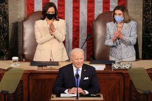 Tổng thống Joe Biden có bài phát biểu đầu tiên trước Quốc hội Mỹ