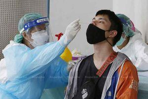Số ca nhiễm Covid-19 mới ở Thái Lan có chiều hướng giảm