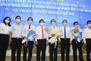 Công bố thành lập 5 cơ quan báo chí thuộc UBND TP HCM