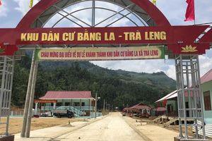 Người dân vùng sạt lở Trà Leng hân hoan về nhà mới
