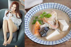 Mỹ nhân Trung Quốc chỉ cách nấu 3 món canh dưỡng nhan cực đơn giản