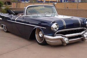 Mất tới hơn 23 tỷ đồng phục chế xe cổ Pontiac Star Chief 1956