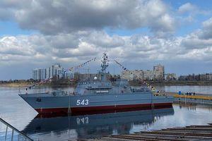 Chế tạo tàu quét mìn tiên tiến cho Hải quân Nga