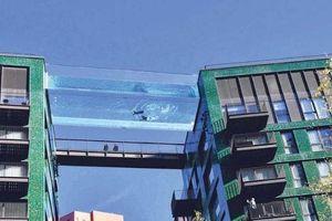 Bể bơi 'lơ lửng' giữa trời duy nhất trên thế giới