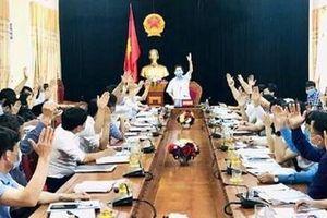 Đề nghị xét công nhận huyện Hương Sơn đạt chuẩn Nông thôn mới