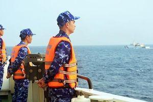 Cảnh sát biển Việt Nam và Trung Quốc tuần tra liên hợp trên Vịnh Bắc Bộ