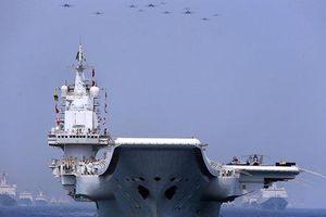 Nhóm tàu sân bay Liêu Ninh của Trung Quốc đi gần Senkaku/Điếu Ngư, thách thức Nhật Bản