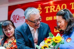 Vedan Việt Nam tri ân 139 nhân viên gắn bó 20-25 năm