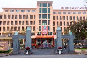 Học viện Báo chí và Tuyên truyền được tổ chức thi tiếng Anh theo khung 6 bậc