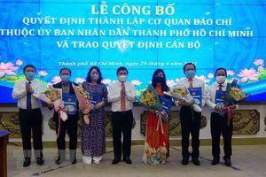 Thành lập năm cơ quan báo chí thuộc ủy ban nhân dân TP.HCM