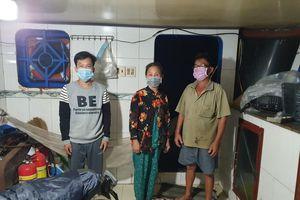 Bộ Tư lệnh Vùng Cảnh sát biển 4 bắt giữ 3 người nhập cảnh trái phép