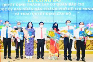 TP Hồ Chí Minh công bố thành lập 5 tờ báo trực thuộc UBND TP Hồ Chí Minh