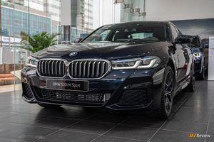 'Soi' BMW 5 Series 2021 phiên bản đắt nhất tại Việt Nam