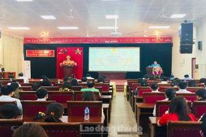 Liên đoàn Lao động huyện Thanh Trì phát động 'Tháng công nhân' năm 2021
