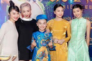 Tóc Tiên, Kiều Minh Tuấn cùng loạt sao Việt ủng hộ Ngô Thanh Vân trong họp báo ra mắt phim 'Trạng Tí'