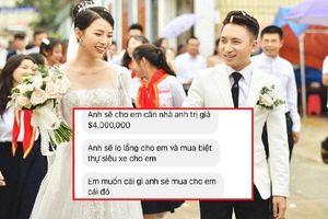 Vợ Phan Mạnh Quỳnh tung loạt tin nhắn bị người lạ quấy rối, hứa cho cả gia tài triệu đô