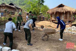Gấp rút hoàn thiện 600 căn nhà hỗ trợ các hộ dân nghèo huyện Mường Lát