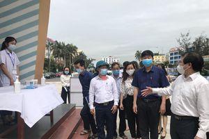 Tổng cục Du lịch kiểm tra công tác phòng, chống dịch COVID-19 tại Thanh Hóa