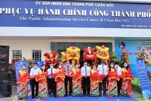 Khánh thành Trung tâm Phục vụ Hành chính công TP. Châu Đốc