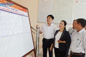 Giám sát công tác bầu cử ở các địa phương