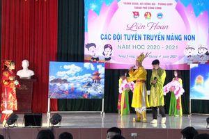 Trên 300 thí sinh tham gia Liên hoan Tuyên truyền măng non