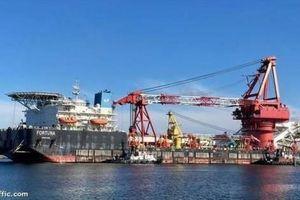 Sà lan đặt ống Fortuna của dự án Nord Stream 2 đã bị dừng