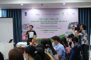 Oxfam hoàn thành gói cứu trợ khẩn cấp gần 1 triệu USD tại 4 tỉnh miền Trung