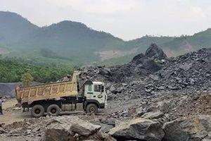 Ngang nhiên khai thác trái phép mỏ đá Thượng Long