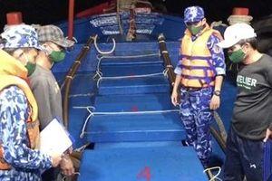 Bắt giữ tàu chở 60.000 lít dầu DO không rõ nguồn gốc