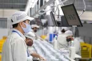 Sản xuất công nghiệp Thủ đô tăng mạnh trở lại