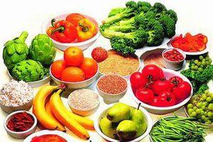 Các loại thực phẩm tốt cho mắt