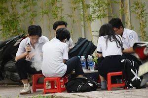 Bộ Y tế đề nghị ngăn ngừa sử dụng thuốc lá điện tử, shisha tại trường học