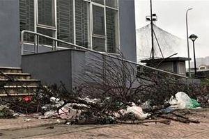 Hà Nội: Khu chung cư 'bỏ hoang' xuống cấp trầm trọng