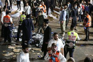 Giẫm đạp thảm khốc trong lễ hội Israel, 44 người chết