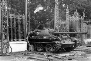 Giây phút tiến vào Dinh Độc Lập trong ký ức người lính xe tăng