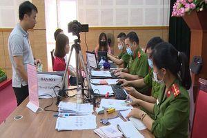 Công an Hà Nội duy trì làm căn cước công dân dịp nghỉ lễ