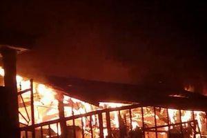 Căn nhà gỗ ở Lâm Đồng hóa tro than sau 20 phút phát hỏa