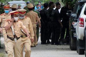Toàn cảnh hàng trăm công an vây bắt nghi phạm bắn chết 2 người ở Nghệ An