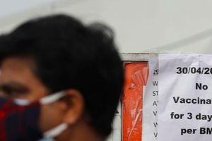 Nhiều bang Ấn Độ phải hoãn tiêm chủng vì hết vắc-xin