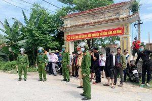 Khống chế, bắt giữ nghi phạm nổ súng khiến 2 người tử vong ở Nghệ An