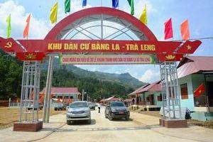 Khánh thành khu dân cư cho người dân vùng sạt lở Trà Leng