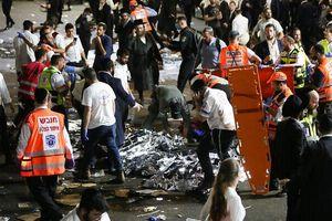 Hiện trường vụ giẫm đạp kinh hoàng tại lễ hội ở Israel