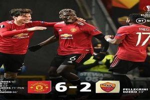 M.U 6-2 Roma: 'Quỷ đỏ' đặt một chân vào trận chung kết