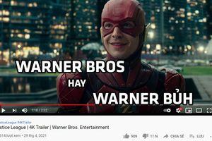 Nửa đêm 'chọc giận' fan DC, Warner Bros muốn thể hiện điều gì?