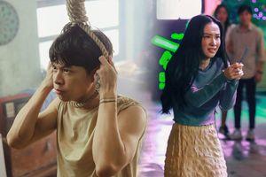 Anh Tú - Jun Vũ lần đầu 'kết đôi' mà sao nàng thì bị đánh bầm dập, chàng thì đòi thắt cổ tự tử thế này?