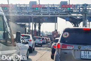 Không xả trạm vì kẹt xe trên đường cao tốc, một đơn vị bị xử phạt